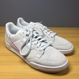 Adidas Continental 80 Gray Shoes G27721, 10.5 D